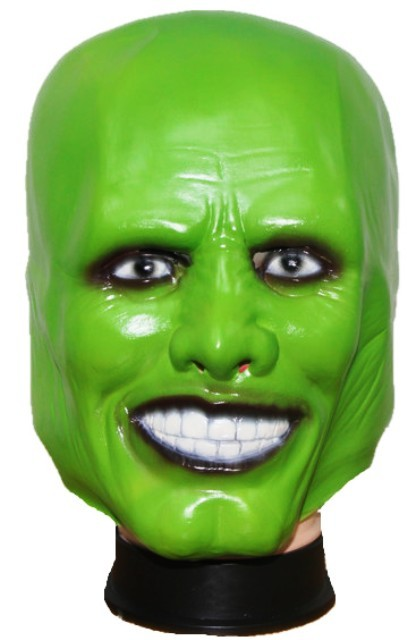 Jim Carry Green Halloween Mask - Premium Quality