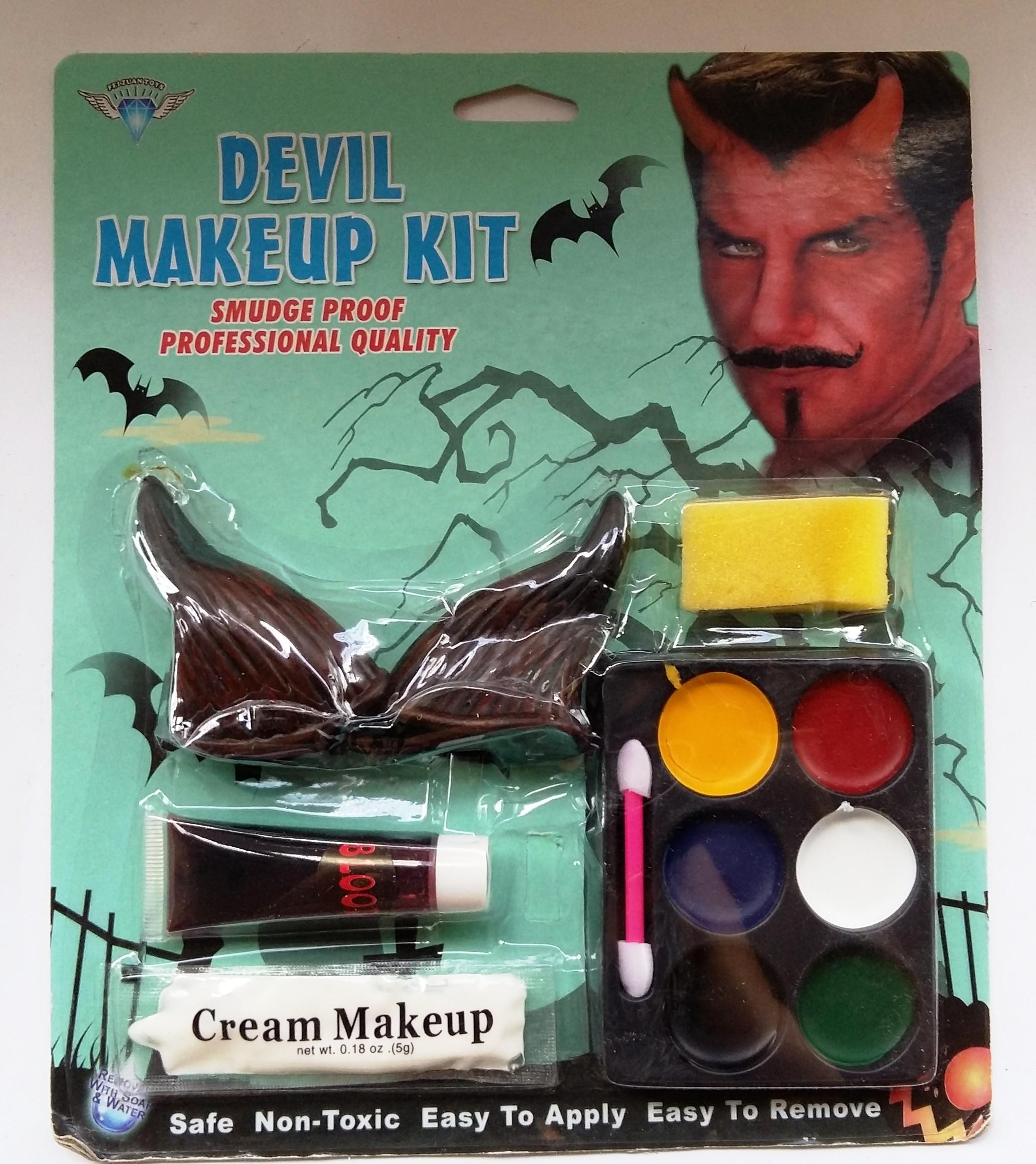 Devil makeup set