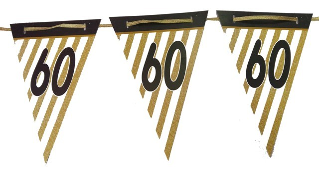 60th Birthday Bunting