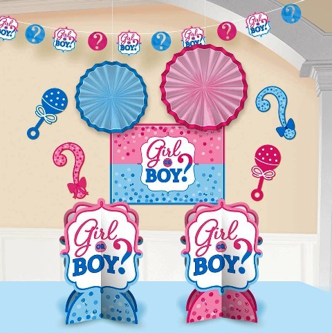Boy or Girl Room Decorating Kit ( set of 10 )
