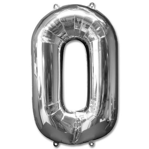 Numeric 0 Foil Balloon