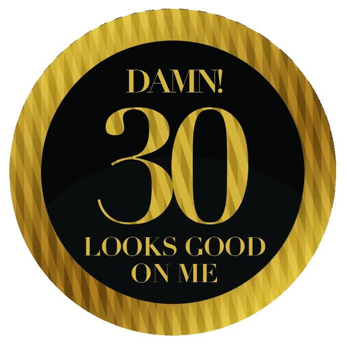 Badge - 30th
