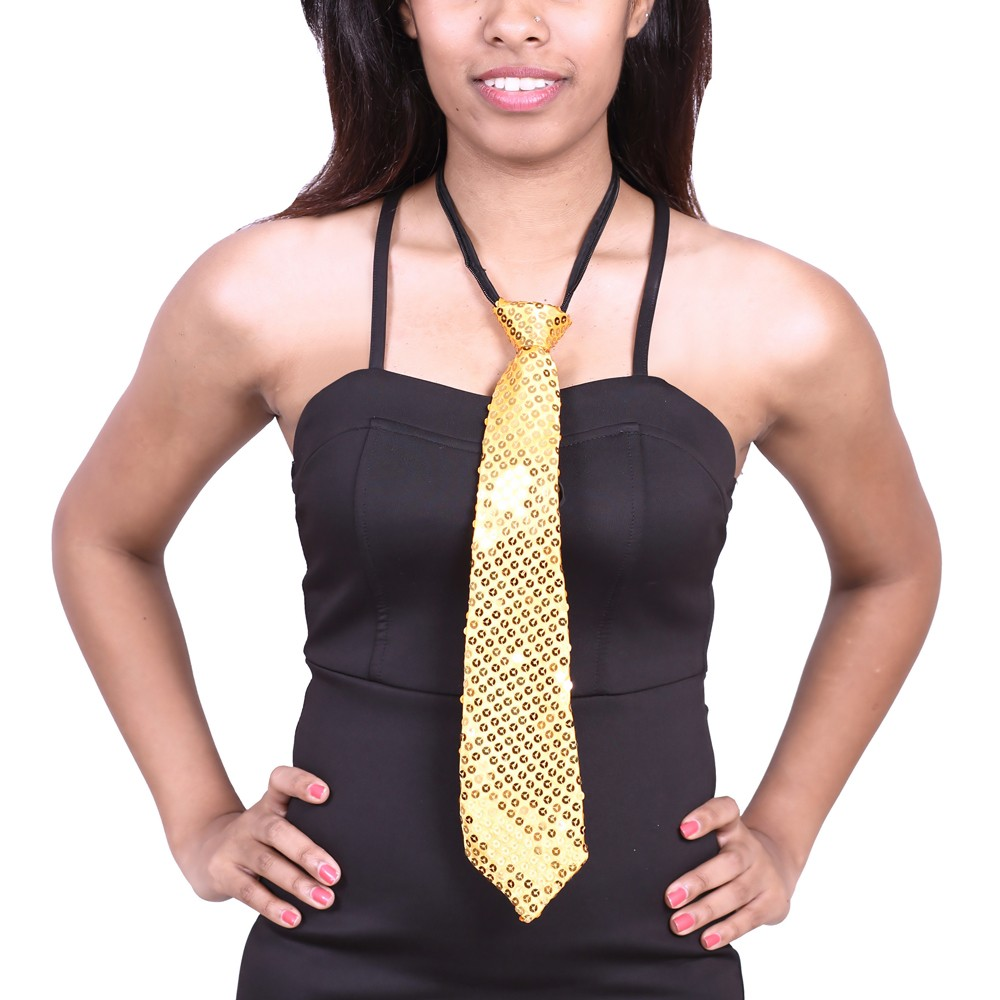 Sequence Cloth Ties - Gold