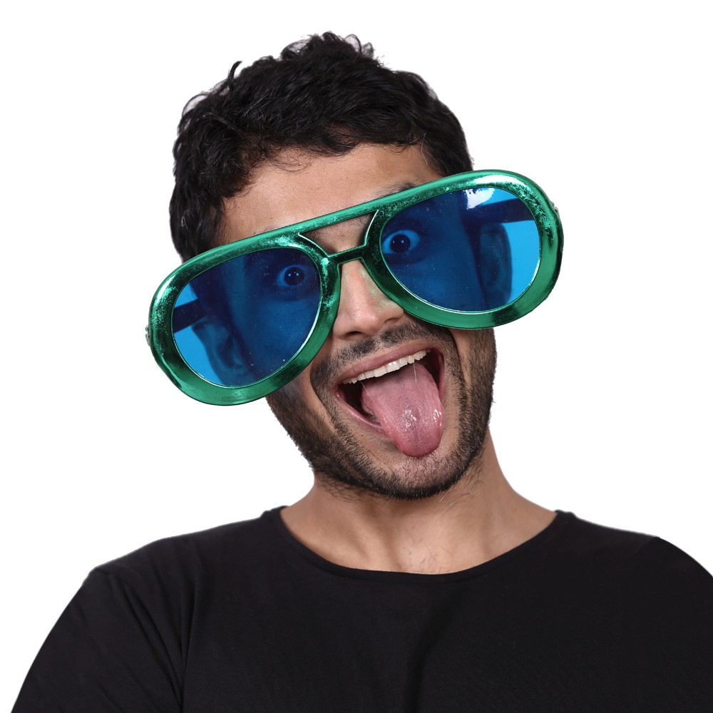 Jumbo Party Glasses (Asst. Colours)