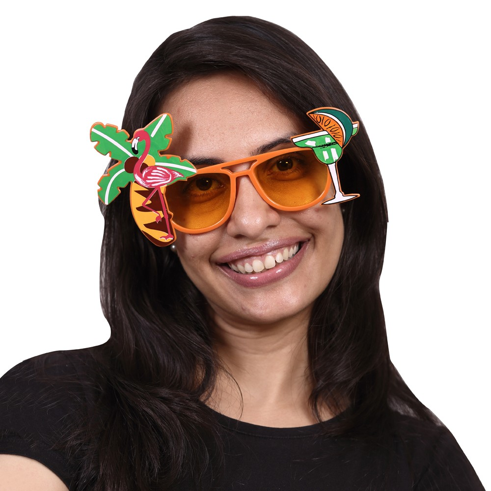 Hawaaii party glasses