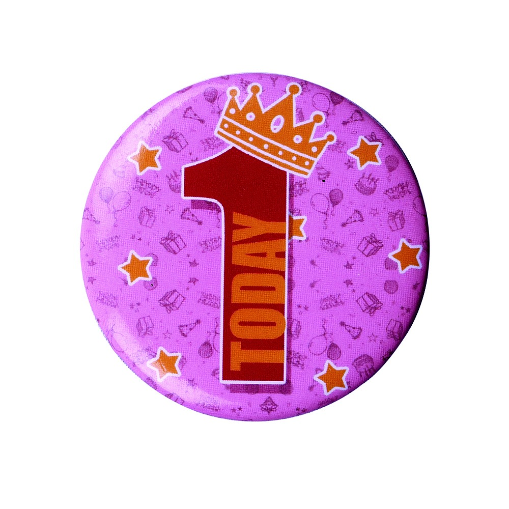 1 Today Badge  (Blue)