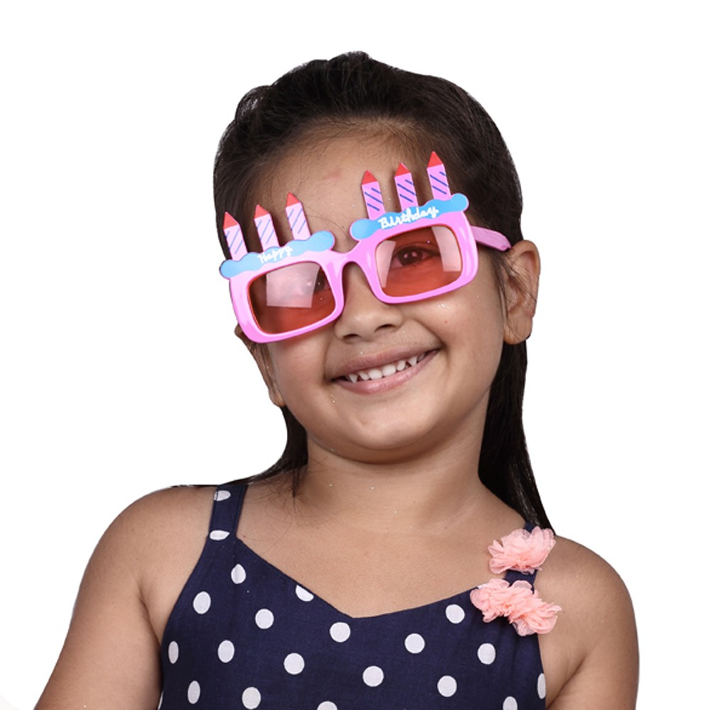 Happy Bday Party Glasses - Girl