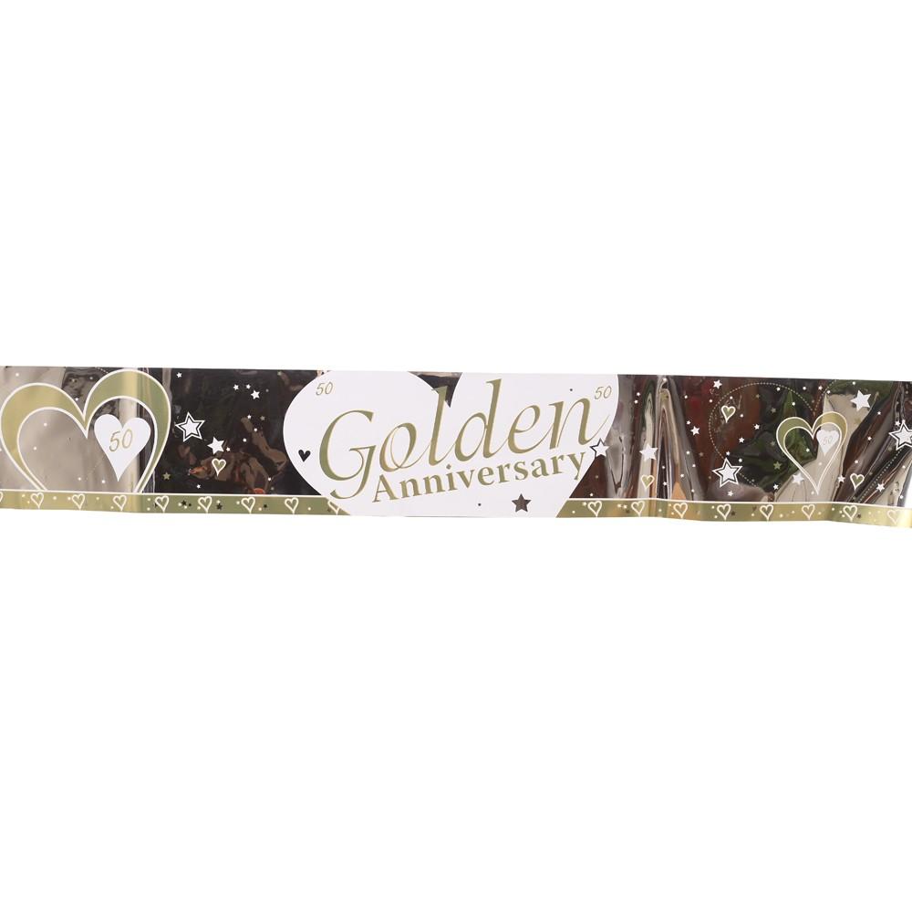 Gold Anniversary Banner
