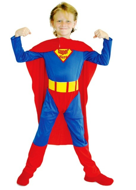 Superman Child Costume ( 5-8 Age)