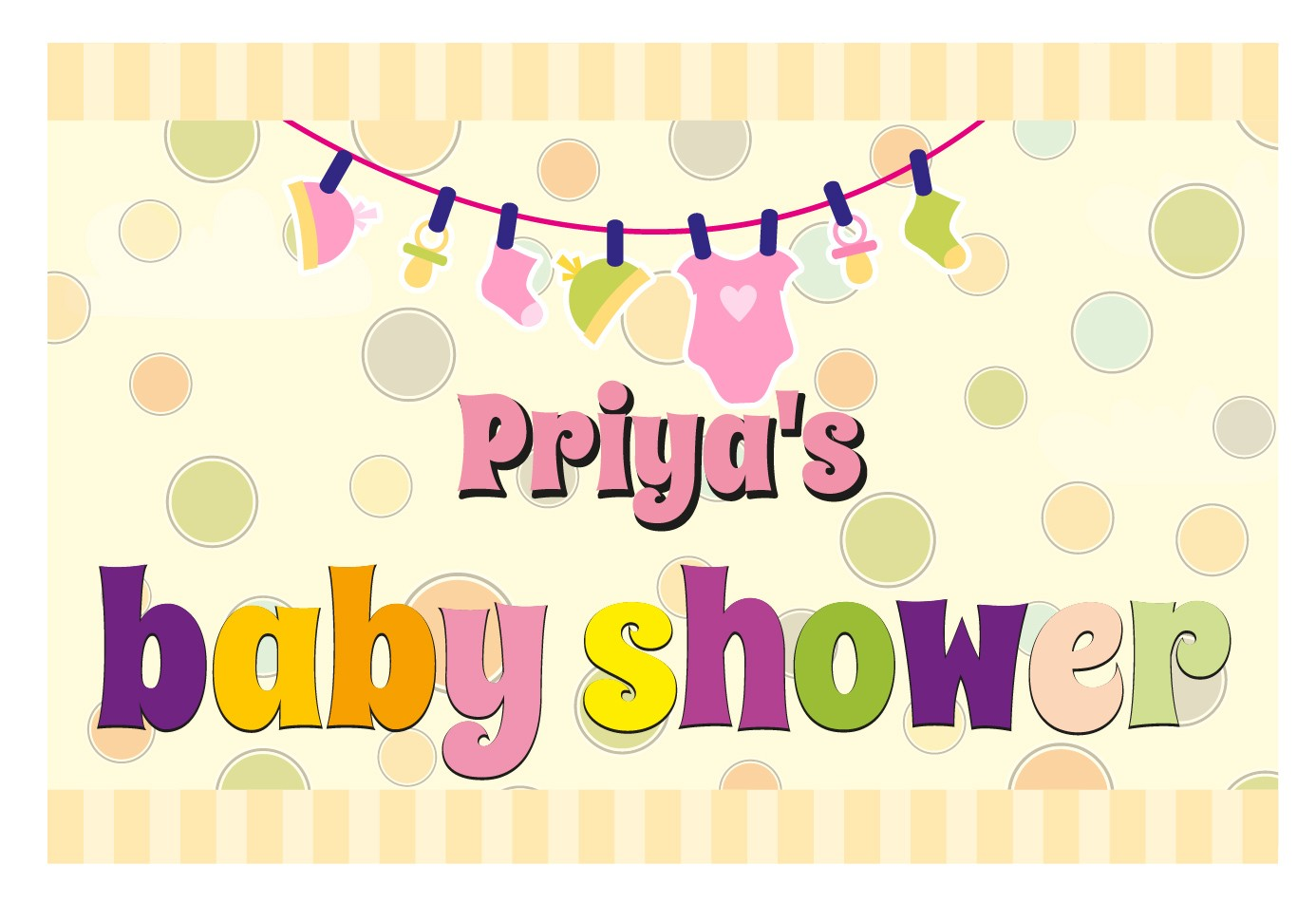 Baby shower banner personalized banners baby shower Baby shower banners
