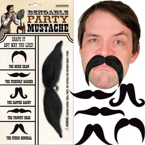 Bendable Party Moustache