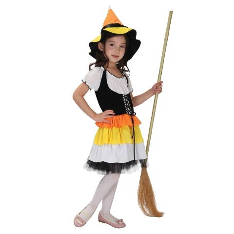 Pretty Magic Sorceress Child Costume (5-8 age)