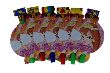 Princess Blow outs (Set of 6)