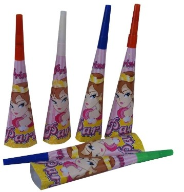 Princess Blow Horns (Set of 6)