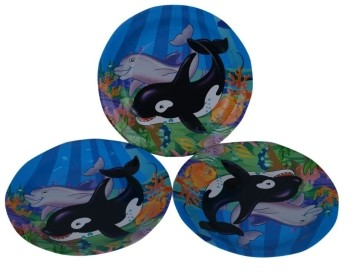 Under the sea Plates (Set of 8)