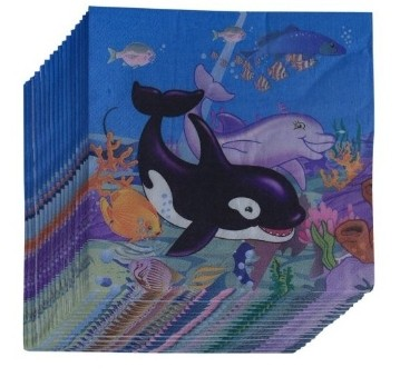Under The Sea Napkins (Set of 20)