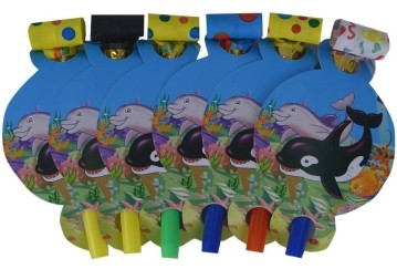 Under The Sea Blow outs (Set of 6)