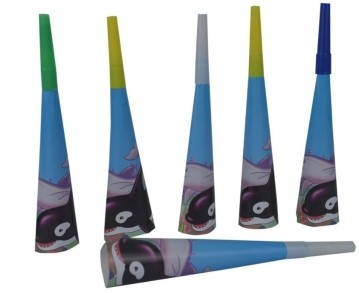 Under The Sea Blow Horns (Set of 6)