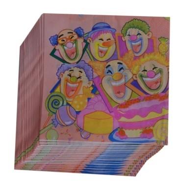 Clown Napkins (Set of 20)