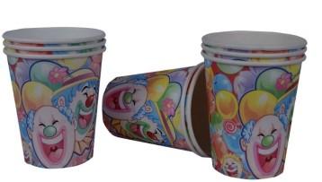 Clown Cups (Set of 8)