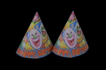 Clown Caps (Set of 8)