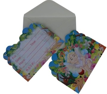 Fairytale Inviation Card (Set of 8)