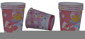 Pink Bear  Cups (Set of 8)