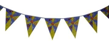 I love Sports  Triangular banner