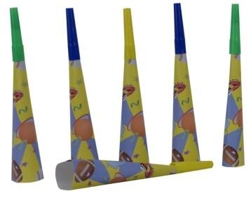 I love Sports  Blow Horns (Set of 6)