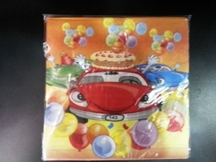 Cars  Napkins (Set of 20)
