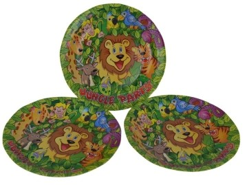 Forest Party Plates (Set of 8)