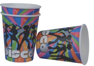 Disco Cups (Set of 8)