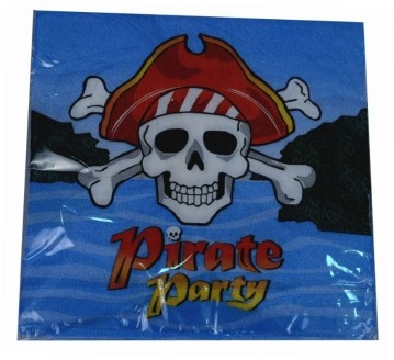 Pirate Party  Napkins (Set of 20)