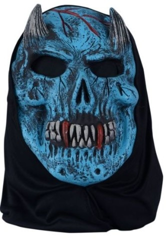 Ugly Mask Blue Ghost