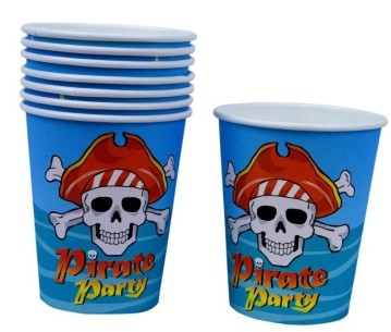 Pirate Party Cups (Set of 8)