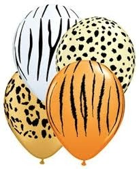 Animal  latex balloons
