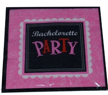 Bachelorette Party Napkins (Set of 20)