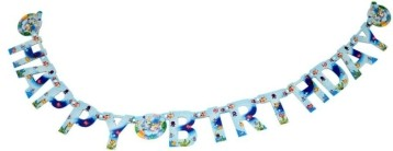 Under the sea Paper Banner