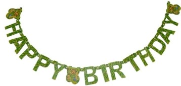 Forest Party  Paper banner