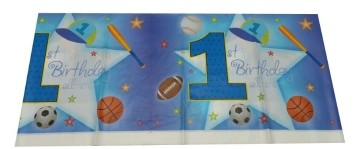1St birthday boy  Table cloth
