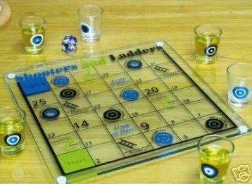 Drinking Snakes & Ladders