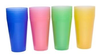 Plastic Cups (Set of 4)