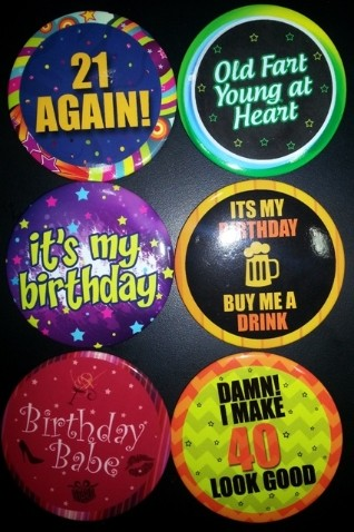 It's my Birthday Birthday Badge