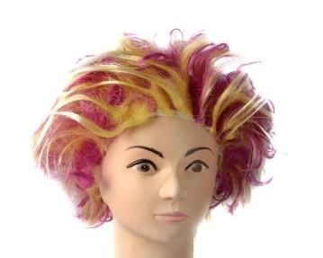Purple Electric Shock Wig