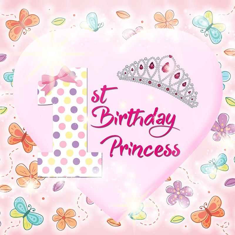 1st Bday Princess Banner