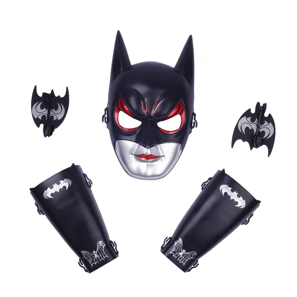 Superhero Batman Mask & Arm Gauntlet