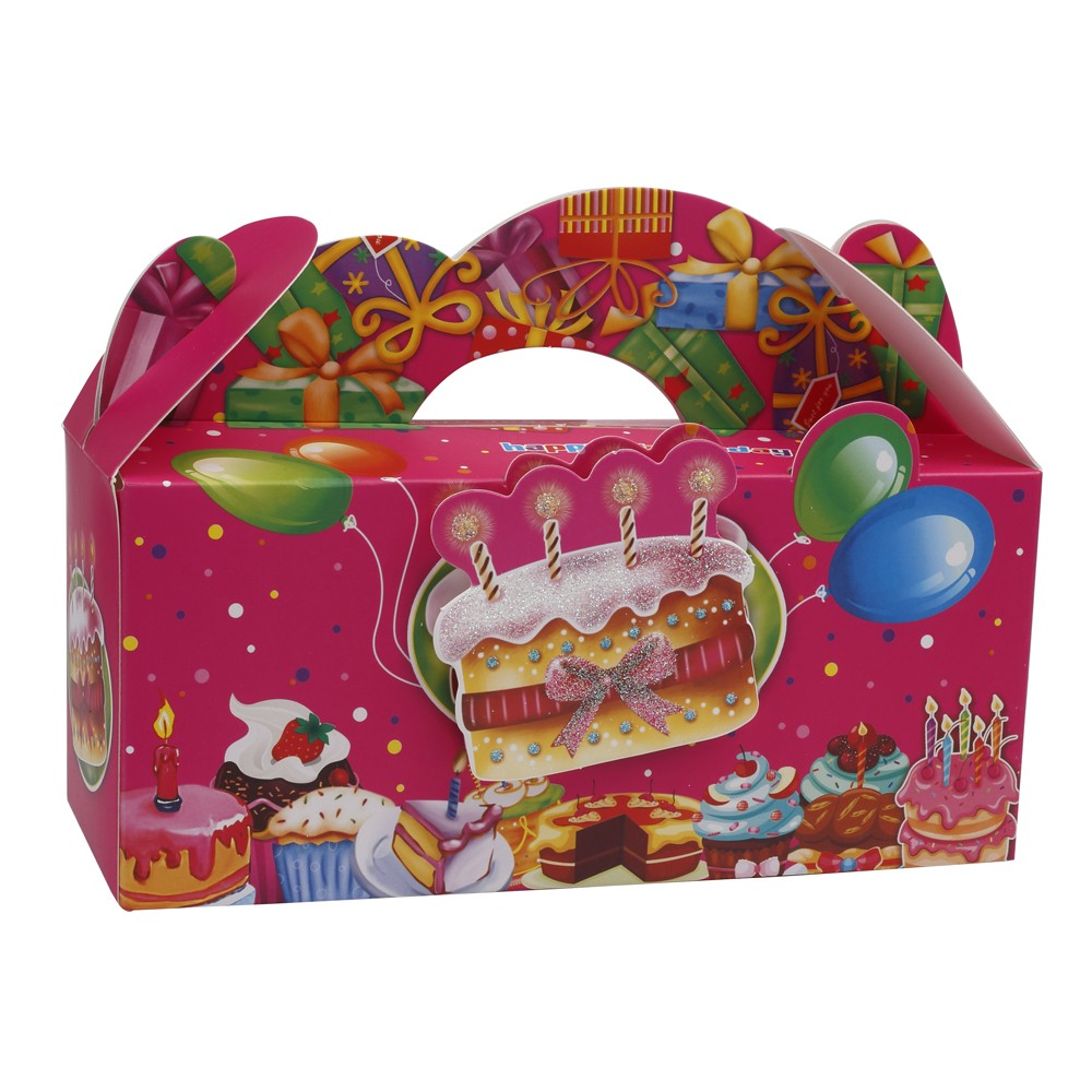 Pink Birthday Treat Boxes