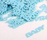 Baby Blue confetti