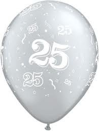 25 Printed Latex Balloon