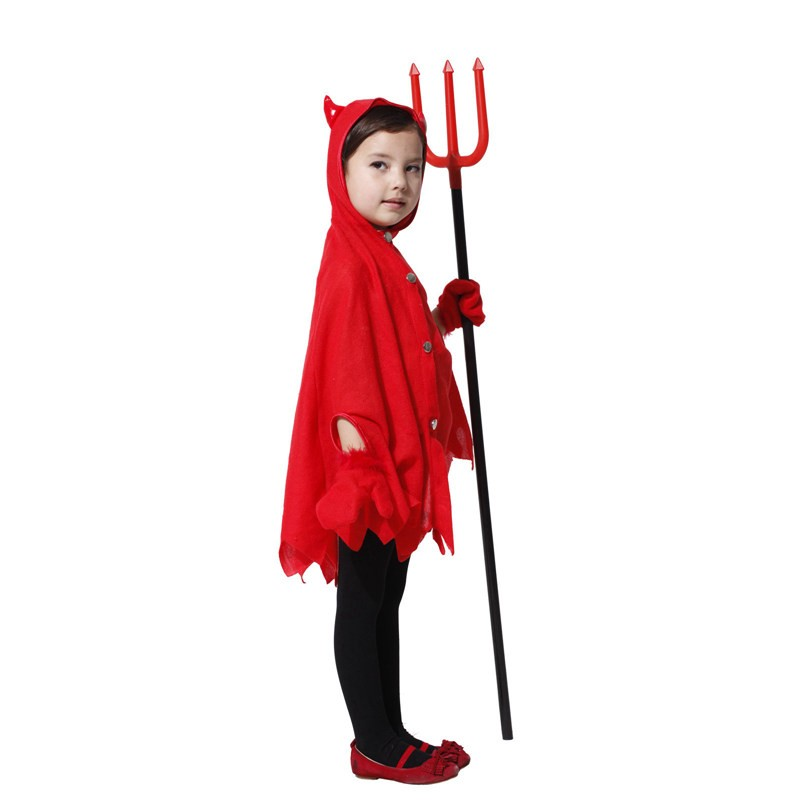 Little Devil Child Costume (5-8Age)